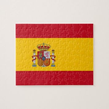Puzzle with Flag of Spain