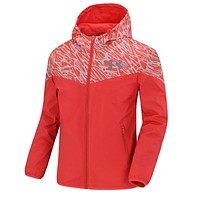 Boys & Men Under Armour Cardigan Jacket Coat Hoodie Windbreaker