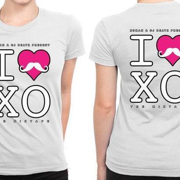 I Love The Weeknd Xo B 2 Sided Womens T Shirt