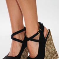 Higher And Higher Wedges: Black