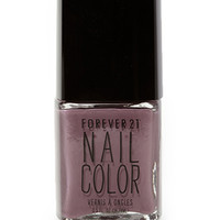 FOREVER 21 Moody Purple Nail Polish Dark Purple One