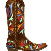 """Old Gringo """" Orleans """" Brass Boots!"""