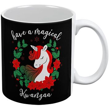 Have a Magical Kwanzaa Unicorn All Over Coffee Mug
