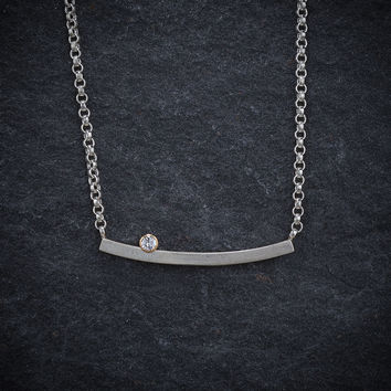 Give.Love Pendant Necklace with .03ct Diamond