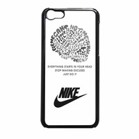 Nike Logo Just Do It iPhone 5c Case