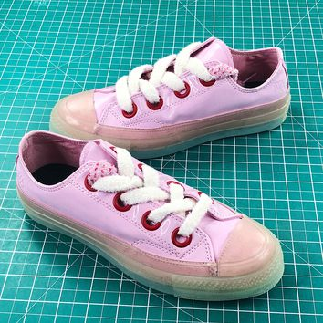 Jw Anderson X Chuck 70 Big Eyelets Pink Sneakers Sale