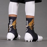 Godly Gold Spats / Cleat Covers