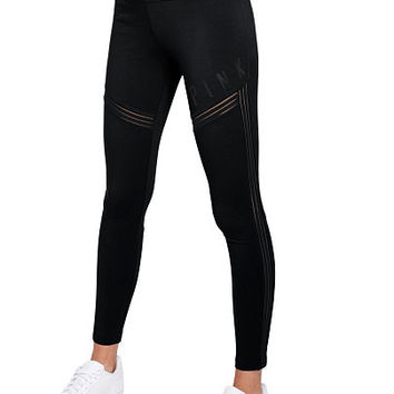 Cotton High Waist Legging - PINK - Victoria's Secret