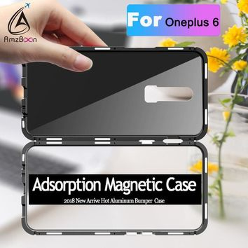 Magnetic Adsorption case For Oneplus 6