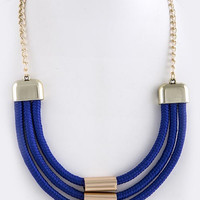 Triple Rope Necklace