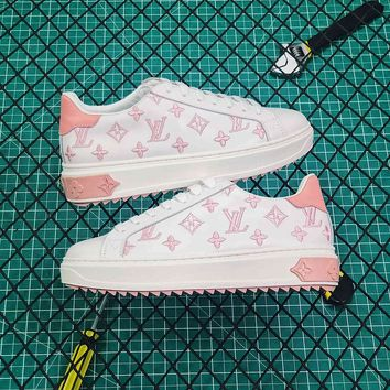 Louis Vuitton LV Time Out Pink Sneaker - Best Online Sale