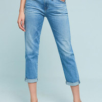 AG Ex-Boyfriend Mid-Rise Straight Jeans