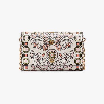 Tory Burch Hicks Garden Chain Wallet