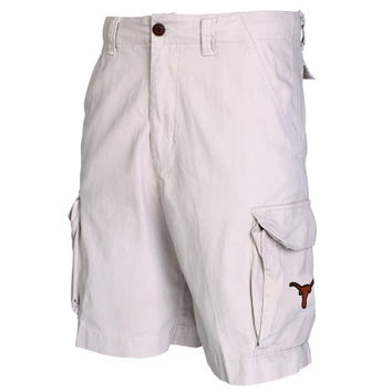Texas Longhorns Backspin Cargo Shorts – Khaki