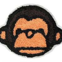 ON SALE 15% OFF xl Extra Large Chenille Monkey Head Patch 15cm Applique