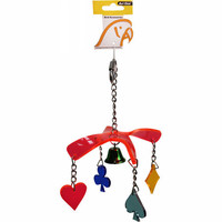 Parrot Toy Acrylic Double Disc with keys