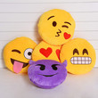 Emoticon Yellow Cushion Pillow Stuffed