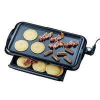Nostalgia Electrics 180 sq. in. Non-Stick Electric Griddle-NGD-200 - The Home Depot