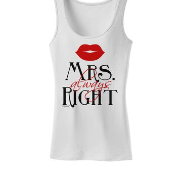 - Mrs Always Right Womens Tank Top