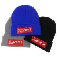 street fashion supreme Beanie