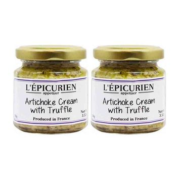 Free Shipping | 2 Pack Epicurien Artichoke Cream with Truffle 3.5 oz