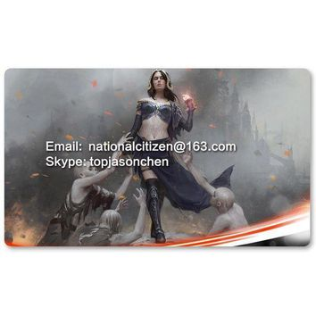 ESBONIS Many Playmat Choices - Liliana, Defiant Necromancer - MTG Board Game Mat Table Mat for Magical Mouse Mat the Gathering 60 x 35CM