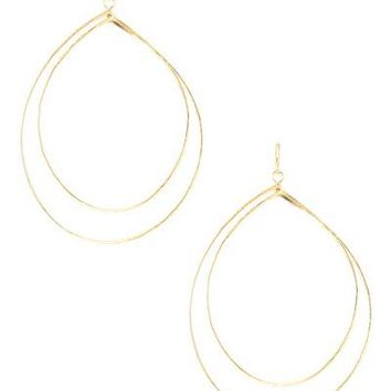 Double Layer Teardrop Earring