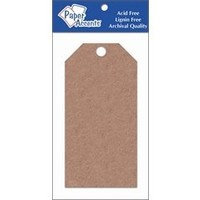 AD Paper Craft Tags 2.5x5.25 25pc Brown Bag