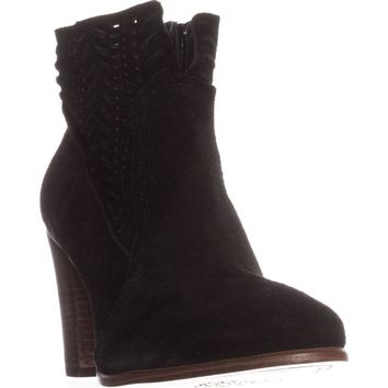 Vince Camuto Fenyia Ankle Boots, Black, 6 US
