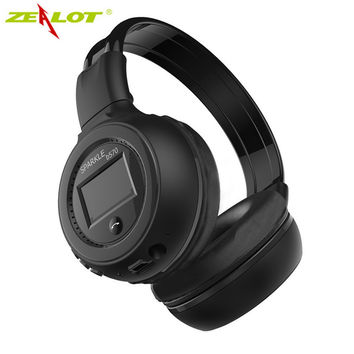 Good quality Original Zealot B570 Stereo Wireless Headset Bluetooth headphone Headband Headset with FM TF LED indicators for mp3