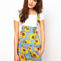 Joyrich Sunflower Dungaree Dress