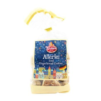 Wicklein Assorted Iced Gingerbread Cookies, 7 oz