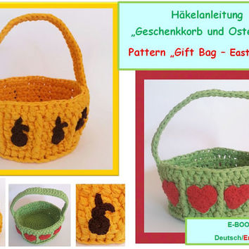 Pattern Gift Basket and Easter Basket