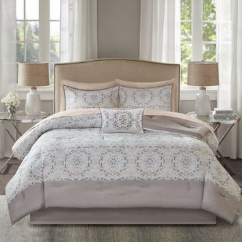 Home Essence Sandy Complete Comforter and Cotton Sheet Set - Walmart.com
