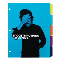 Set of 5 One Direction Tab Dividers