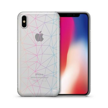 Ombre Geo - Clear Case Cover