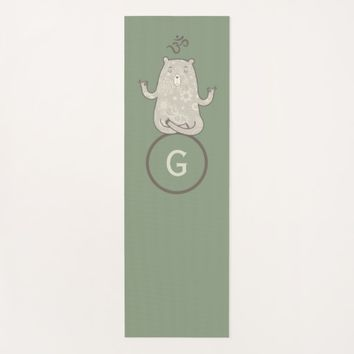 Monogram Yoga Bear Yoga Mat
