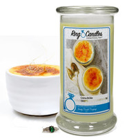 Creme Brulee Ring Candle