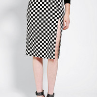 Urban Outfitters - Coincidence & Chance High-Slit Pencil Skirt