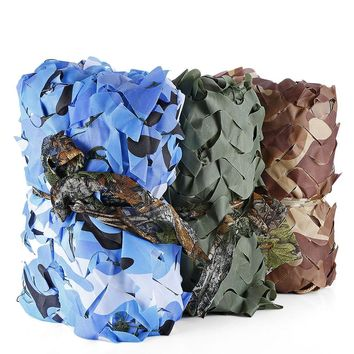 Outlife 2 x 3M Woodland Military Car Tent Camouflage Net Hunting Camping Cover Sunshade Army Camo Net Camping Sun Shelter