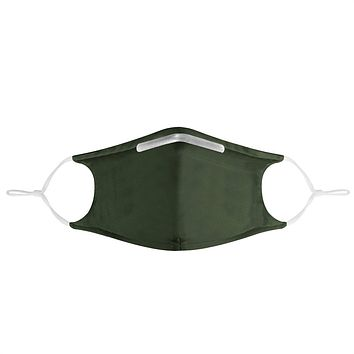 DARK GREEN -  MASK WITH (4) PM 2.5 CARBON FILTERS