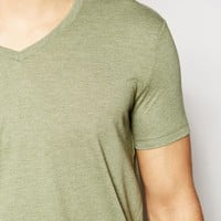 ASOS T-Shirt With V Neck In Relaxed Fit