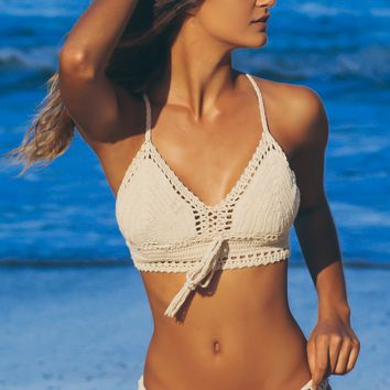 Crochet Swim Bottoms Nude