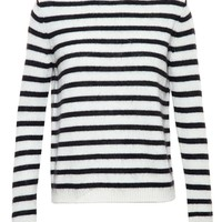 STELLA JEAN | Striped Wool Jumper | brownsfashion.com | The Finest Edit of Luxury Fashion | Clothes, Shoes, Bags and Accessories for Men & Women