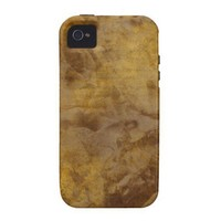 Grungy Brown Case-Mate iPhone 4 Cases from Zazzle.com