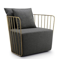 Bride's Veil Lounge Chair - Reproduction | GFURN