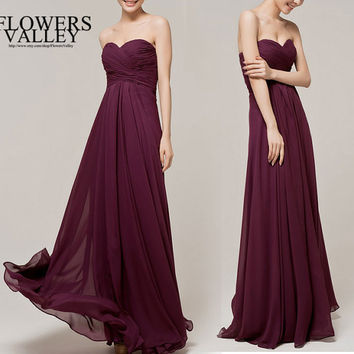Bridesmaid Dress / Romantic / dresses /Tiffany / / Bridesmaid / Party / wedding / Bride