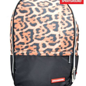 SPRAYGROUNDSTASHED MONEY LEOPARD BACKPACK