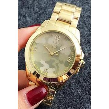Camouflage Tous men and women see is a very fashionable little watch Gold