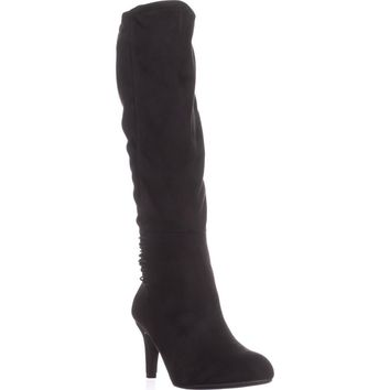 BCBGeneration Rozz Slouch Boots, Black, 9.5 US